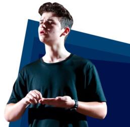 Canterbury theatre student acting