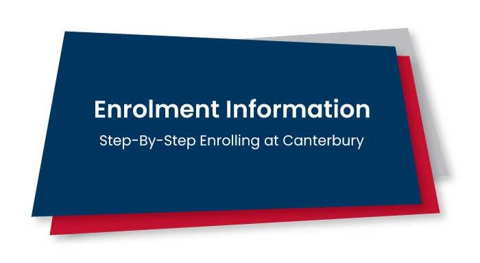 Enrolment Information Header
