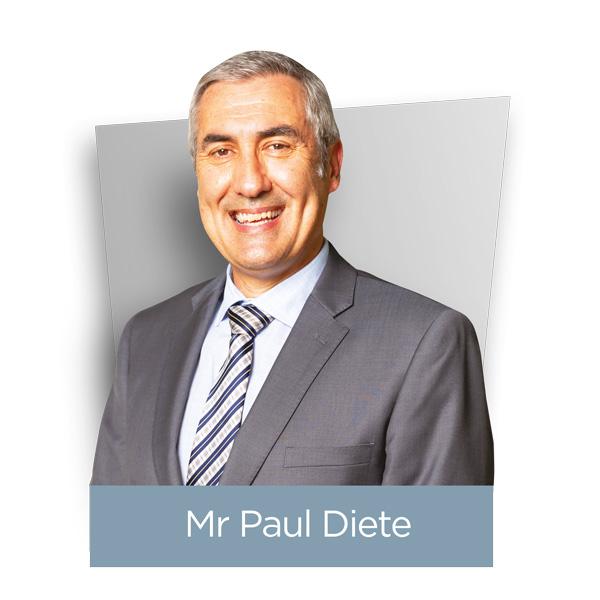Mr Paul Diete Headshot
