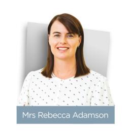 Mrs Rebecca Adamson Headshot